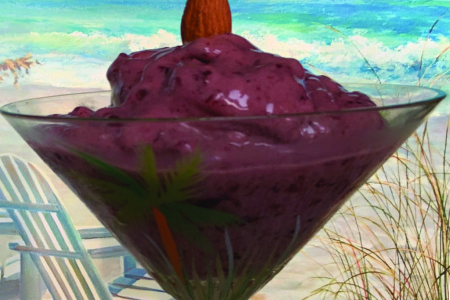 Cool Treat: NuTricia's Dark Sweet Cherry Almond Nice Cream