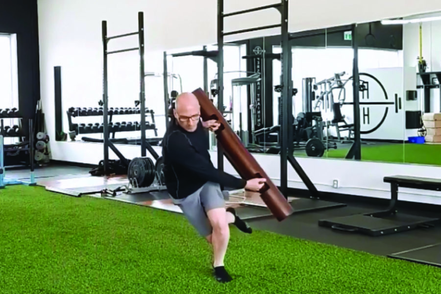 Movement of the Month: ViPR Lateral Bound with Single Leg Landing
