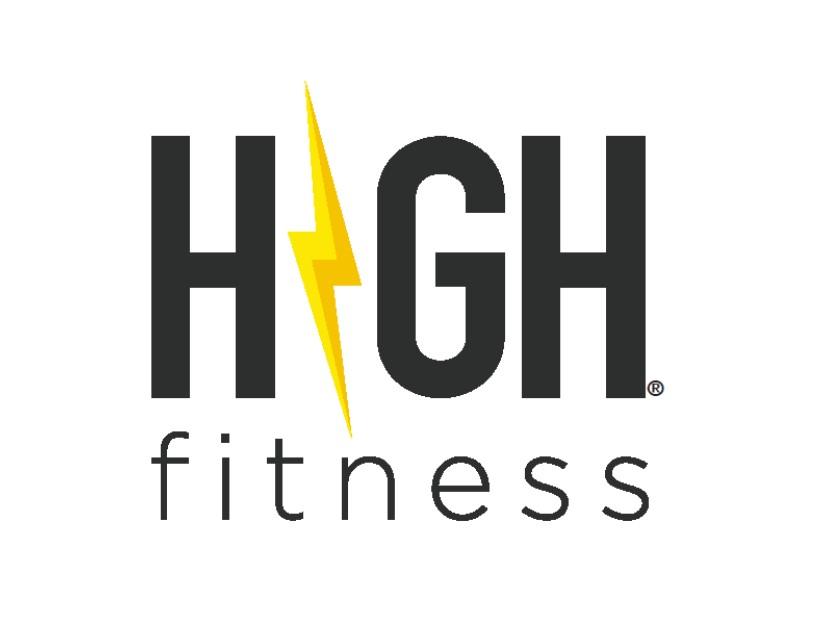 HIGH Fitness white logo