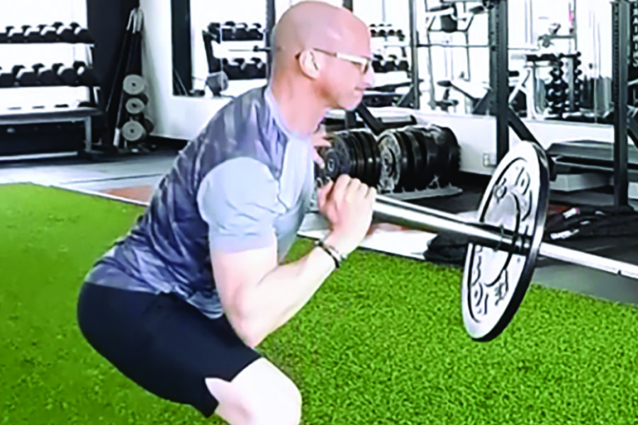 Movement of the Month: Barbell Single Arm Lateral Lunge to Press