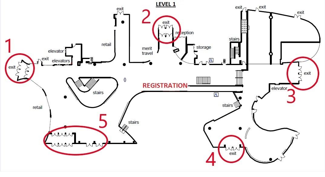 UBC - The Nest - Registration Area